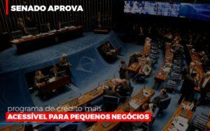 Senado Aprova Programa De Credito Mais Acessivel Para Pequenos Negocios Notícias E Artigos Contábeis Notícias E Artigos Contábeis - Conexão Contábil