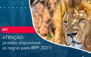 Ja Estao Disponiveis As Regras Para Irpf 2021 - Conexão Contábil
