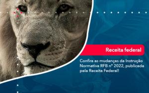 Confira As Mudancas Da Instrucao Normativa Rfb N 2022 Publicada Pela Receita Federal - Conexão Contábil