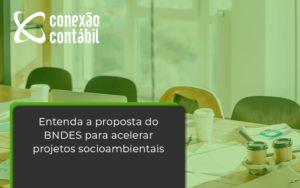 Entenda Como O Bndes Promete Acelerar Projetos Que Possuam Reflexos Socioambientais E Prepare Se Para Crescer Conexao Contabil - Conexão Contábil