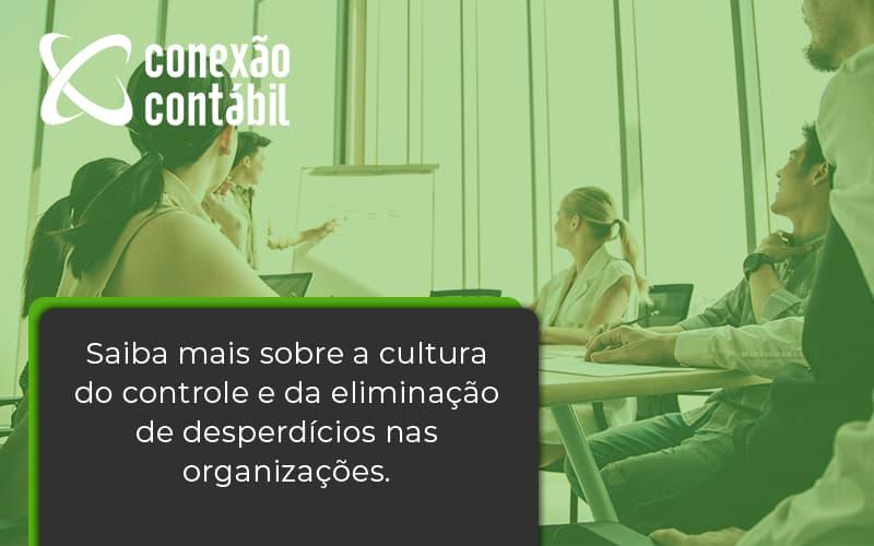 Saiba Mais Sobre A Cultura Do Controle E Da Eliminação De Desperdícios Nas Organizações. Conexao Contabil - Conexão Contábil